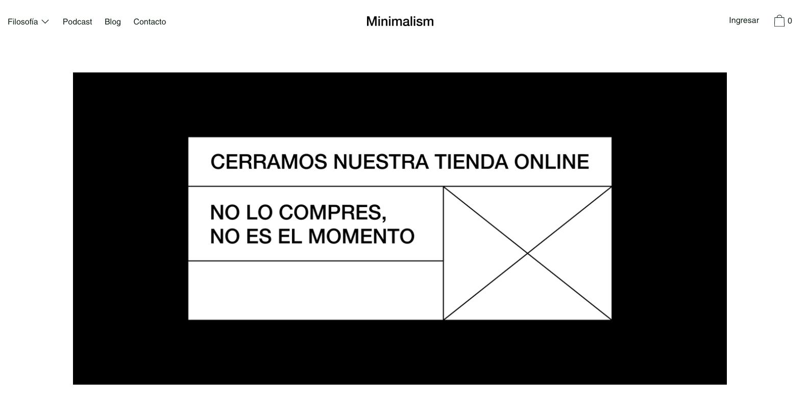 minimalisism